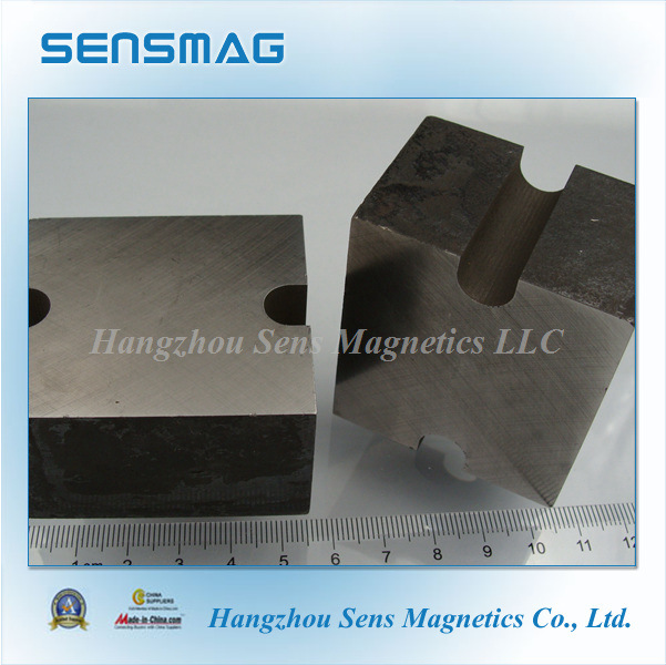 Manufature Cast Permanent AlNiCo8 Block Magnets