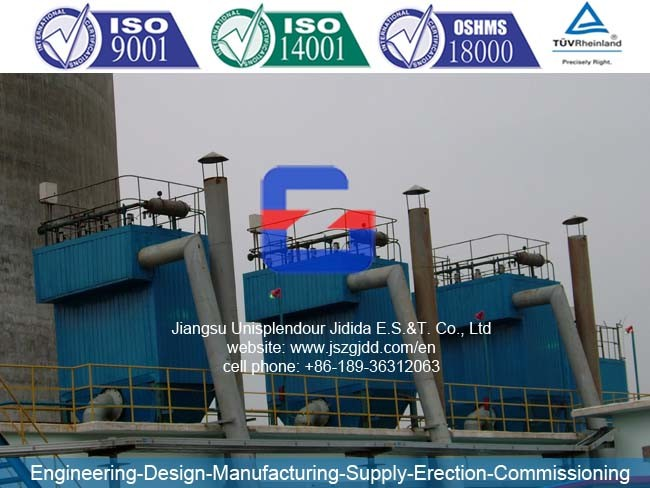 Jdmc152X4 Pulse Jet Bag-Filter Dust Collector for Cement Plant Line