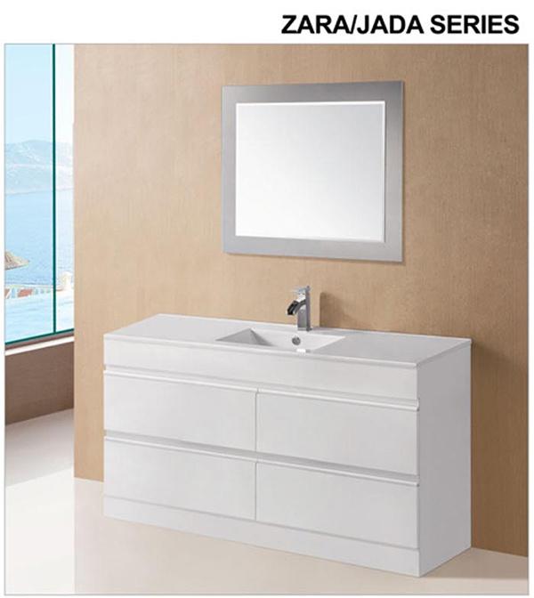 Modern Australian Wooden Bathroom Vanity Cabinet with Mirror (ZARA-1200)