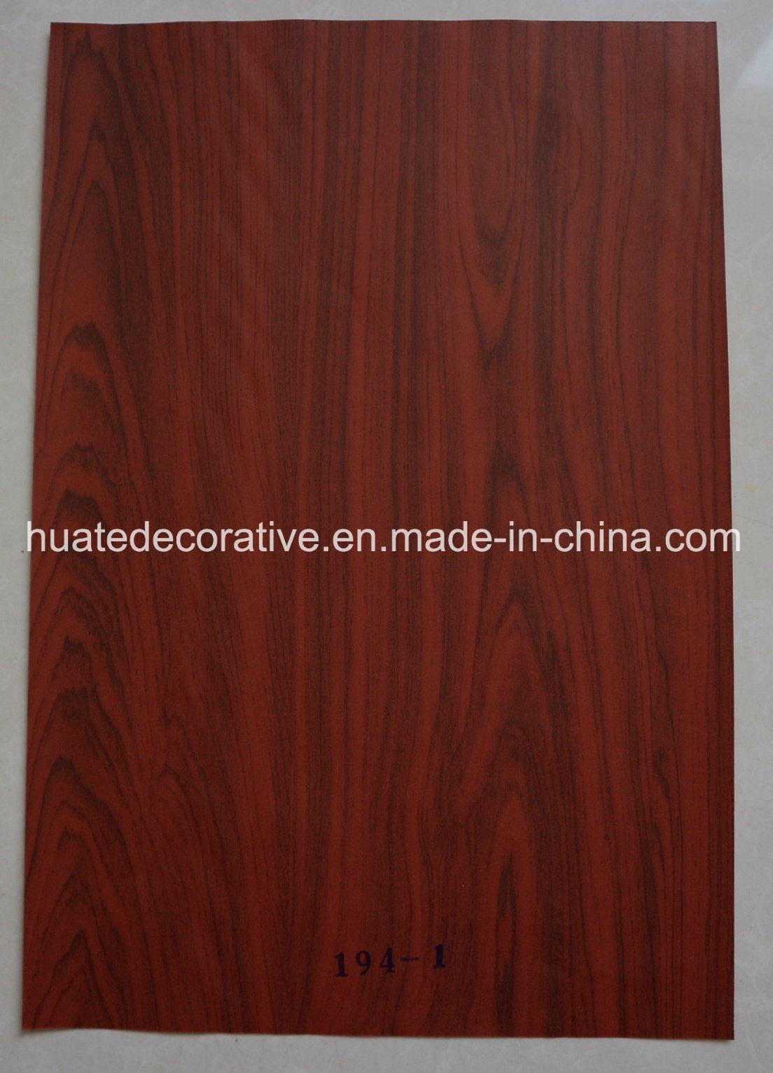 Wood Grain Melamine Paper, Decorative Paper for Laminate, MDF, Door, Walnut Design