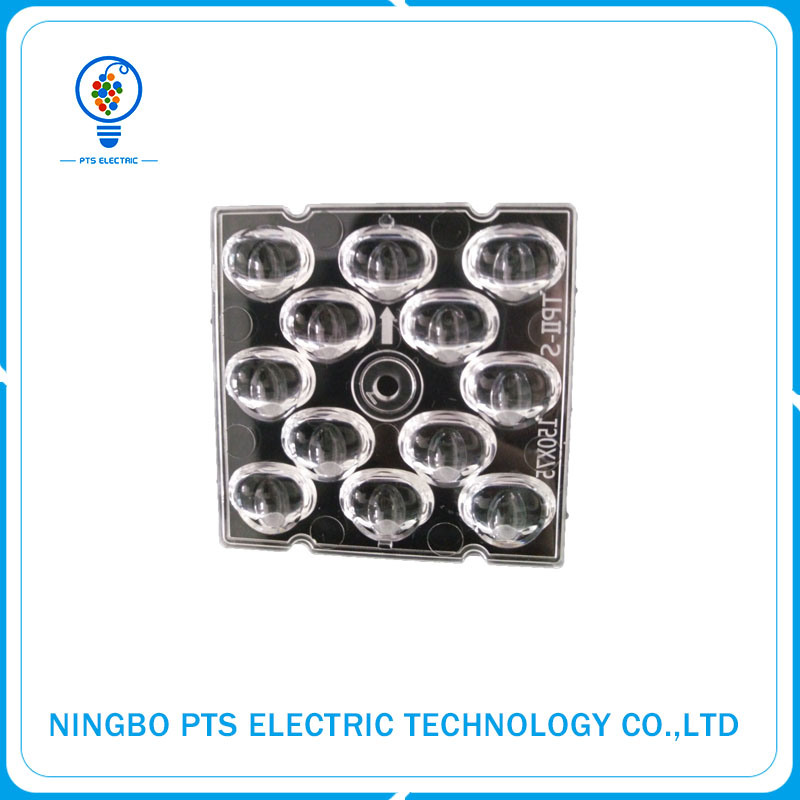 High Quality Optical Plastic Light Lens High Power Street Light Lens with Ce