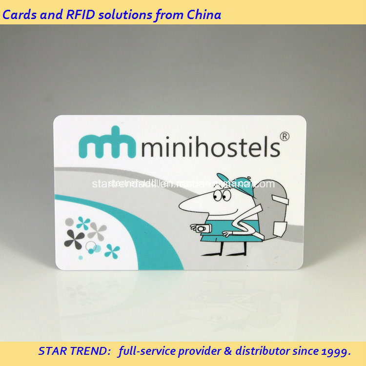 Smart Keycard Made of PVC with RFID Chip for Hotel
