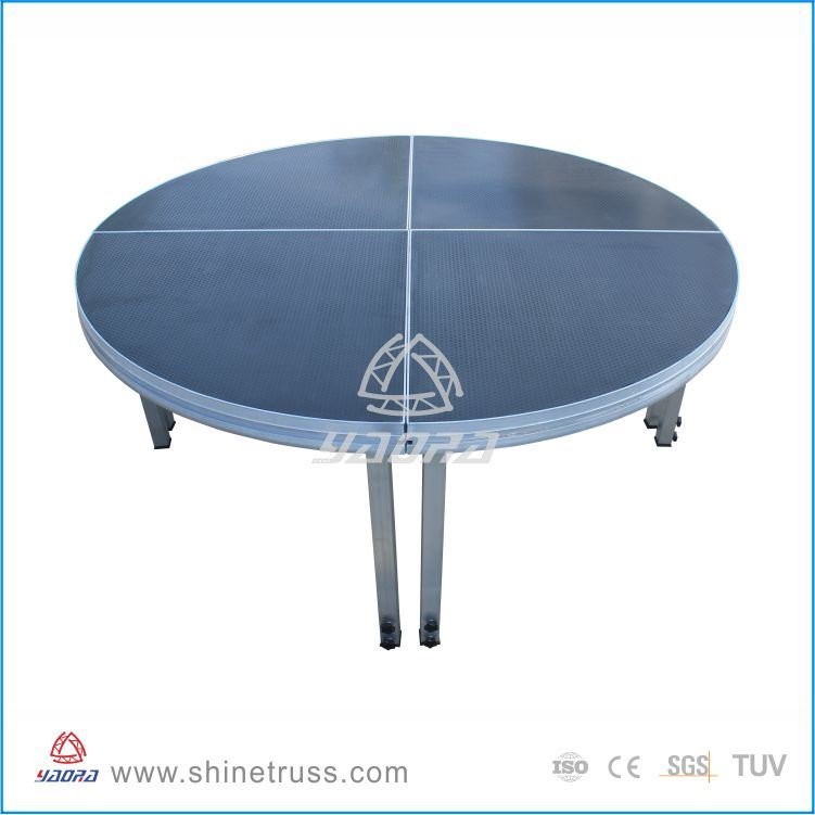 Round Stage for Wedding Event Stage Rental Aluminum Stage Frame