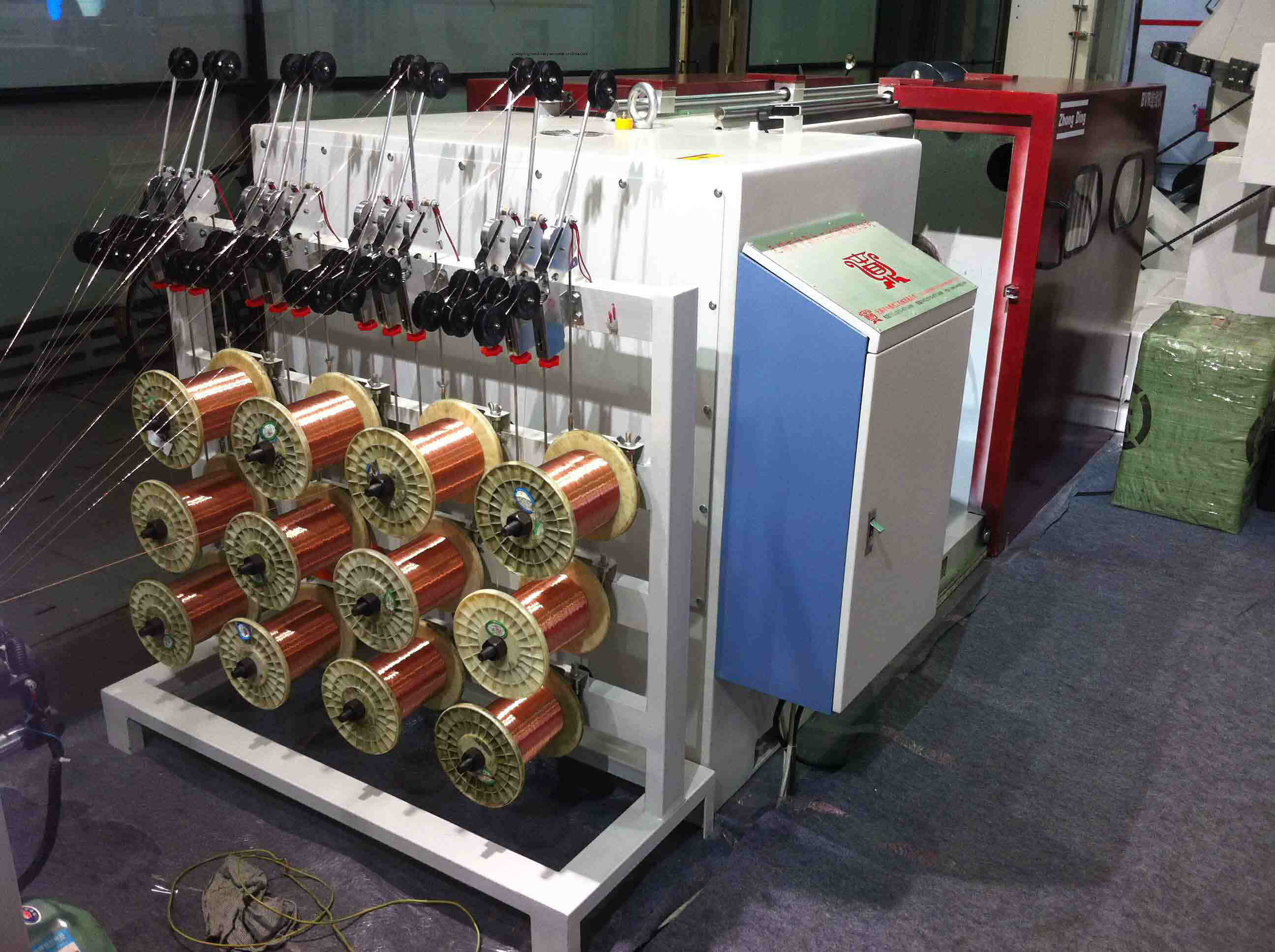 1+6+12 Series Bunching Machine