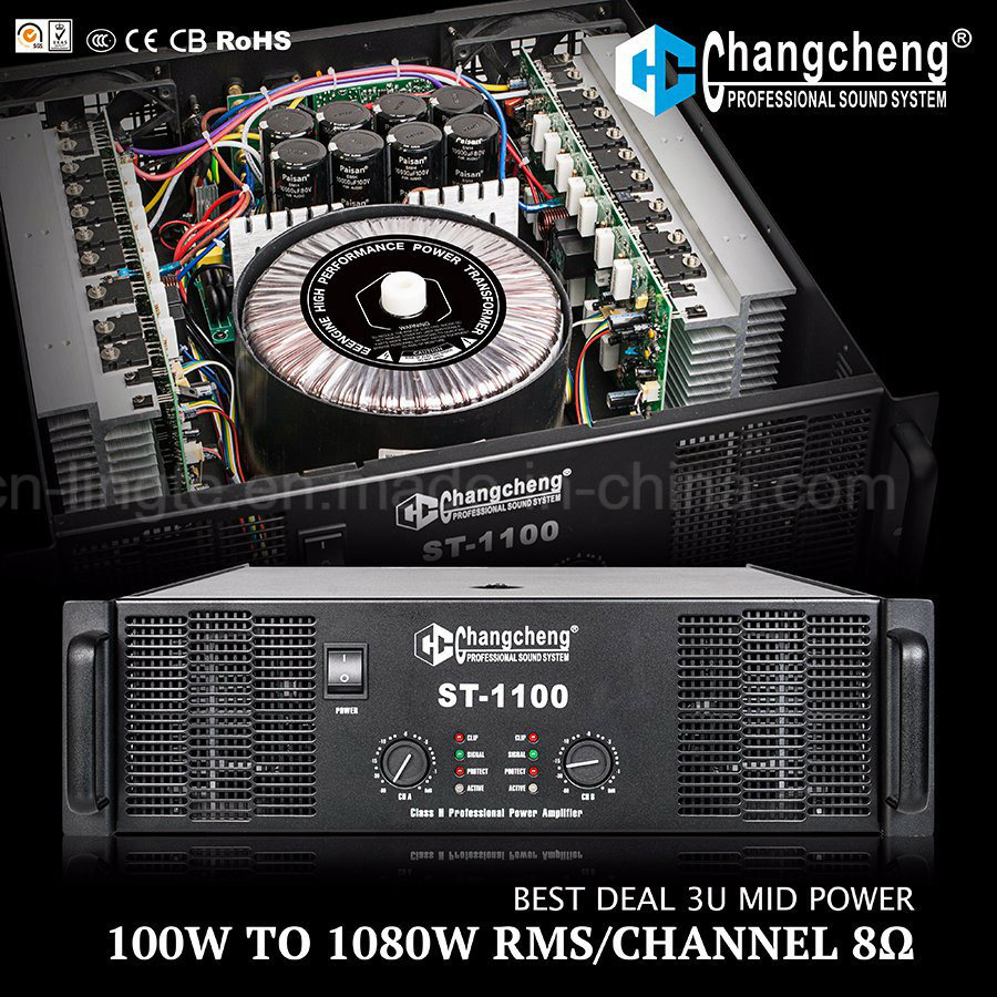St Series 3u Professional Class H Low to MID Power Amplifier
