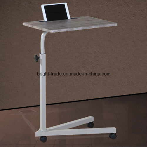 Removable Computer Table with I Pad Slot