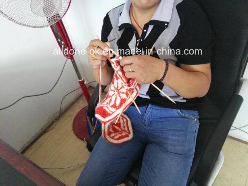 Hand Knitted High Knee Boot Socks Women New Classics Design