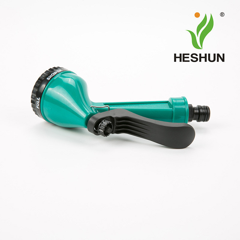 5 Patterns Plastic Irrigation Garden Tool Garden Water Spray Gun