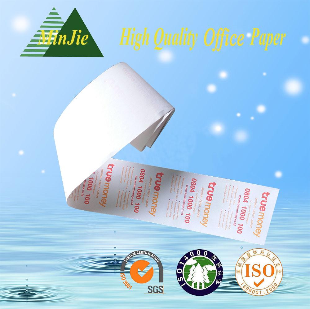 Provide Color Printing Type POS Cash Register Billing Paper Roll