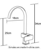 Factory Supply Watermark Ceramic Cartridge Brass Faucet Sanitary Ware (CG4238)