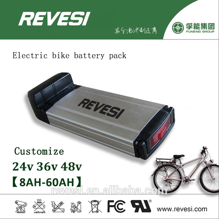 36V 10ah Lithium Rechargeable Ebike Battery Pack for Electric Bicycle