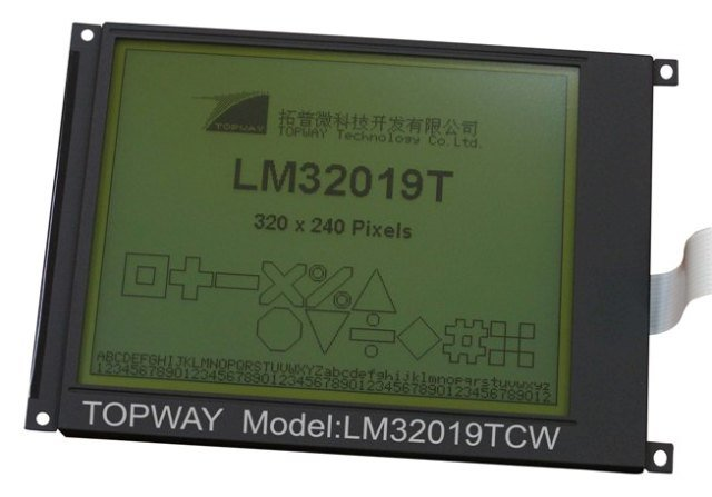 "320X240 5.7"" Graphic LCD Display Cog Type LCD Module (LM32019T) Compatible with Sharp Lm32019"