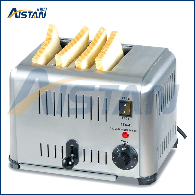 4ATS 4 Piece Bread Toaster of Bakery Equipment