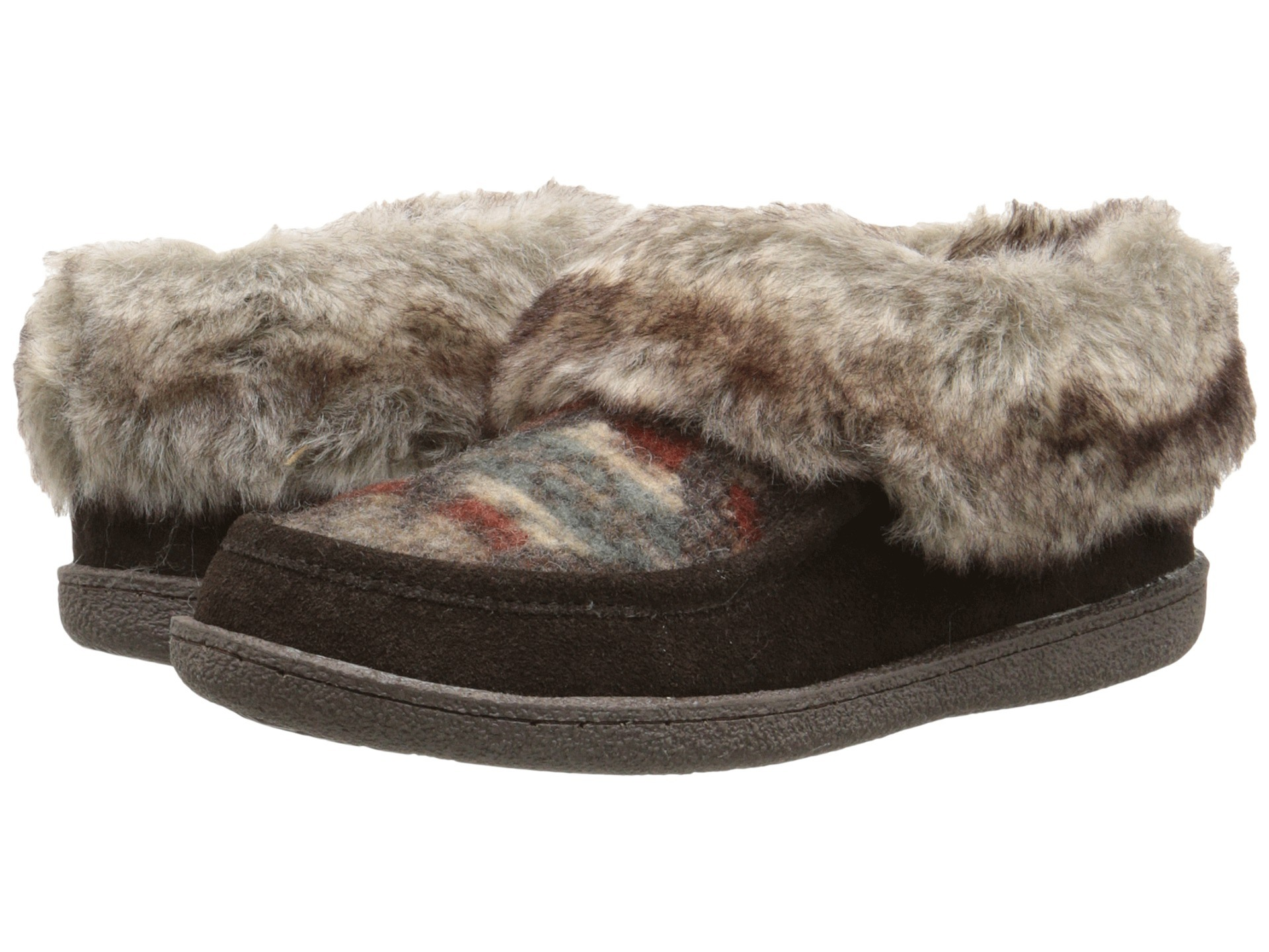 Warm Max Side Stitch TPR Sole Memory Foam Slipper
