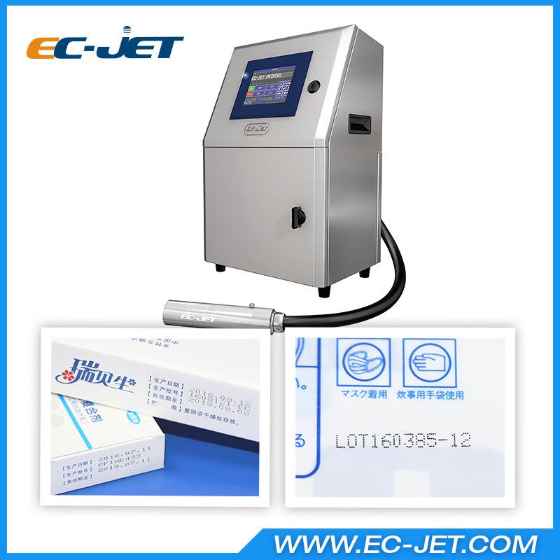 Barcode Inkjet Printer/Cij Printer Pipe /Package /Egg Expiry Date Print (EC-JET1000)