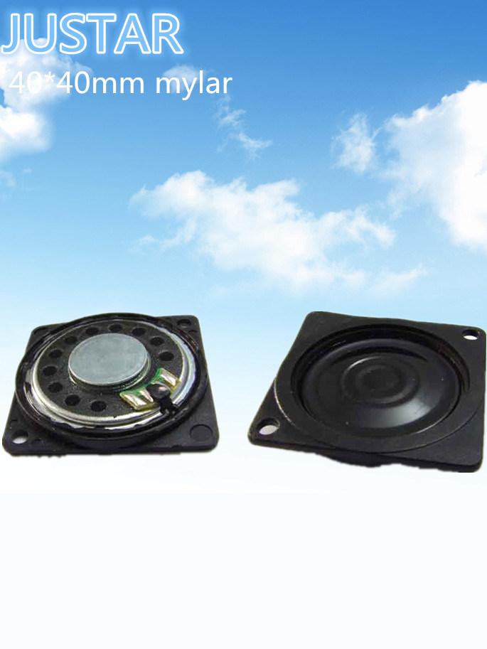 40*40mm Mini Speaker Thin Type Loudspeaker