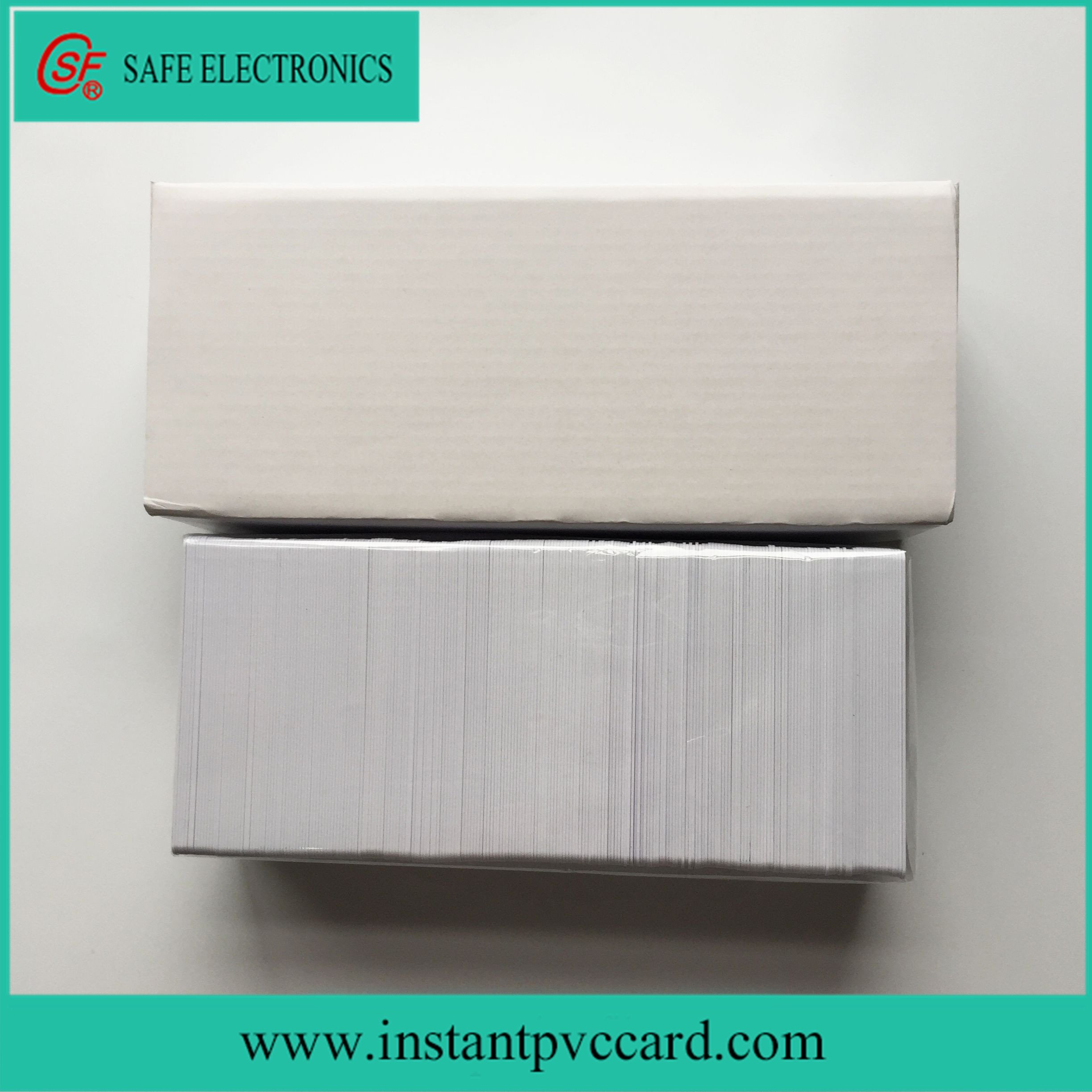 White Magnetic Stripe Card with Sle4442 Chip