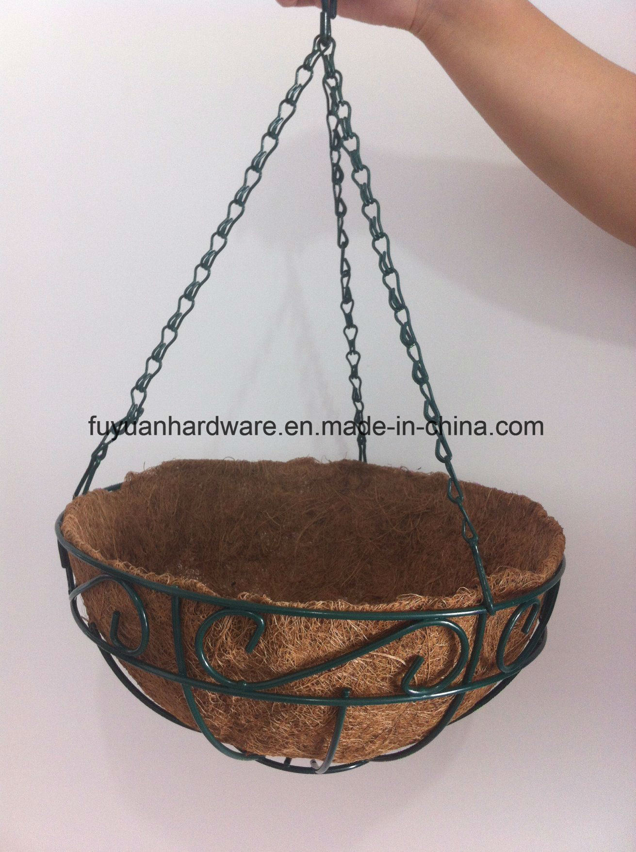 2017 Wholesale Factory Direct Supply Metal Hanging Basket