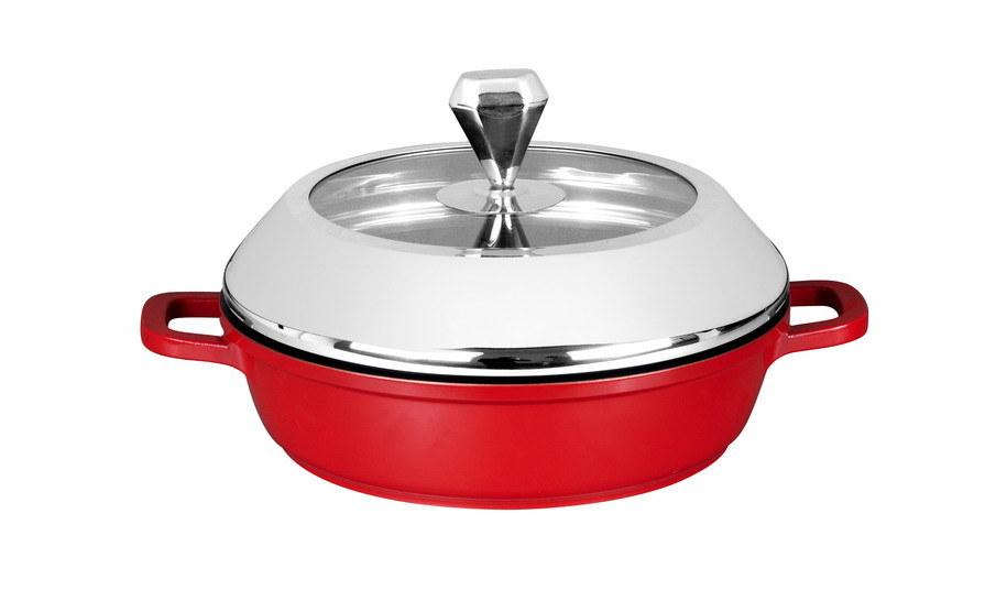 High Quality Cast Aluminum Cookware Set 13PCS