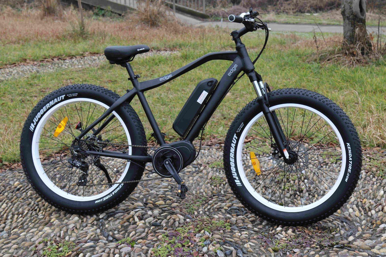 250W Bafang MID Motor Fat Tire Mountain Electric Bike