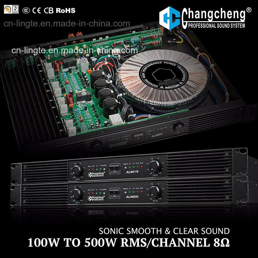 Alm Series 1u Class Ab 100watt Power DJ Amplifier
