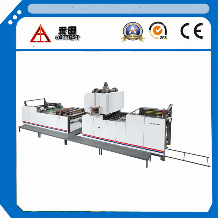 Hottest Machinery Lfm-Z108L Fully Automatic Sheet Paper and PVC OPP BOPP Filming Machine