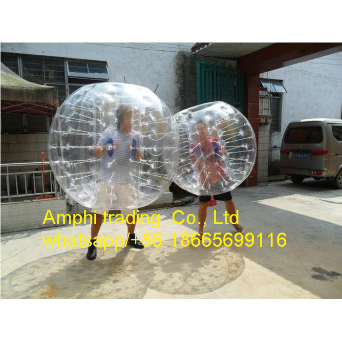 2015 High Quality 1.2m/1.5m PVC/TPU Buddy Bumper Ball for Adult, Giant Ball Inflatable, Football Inflatable Body Zorb Ball