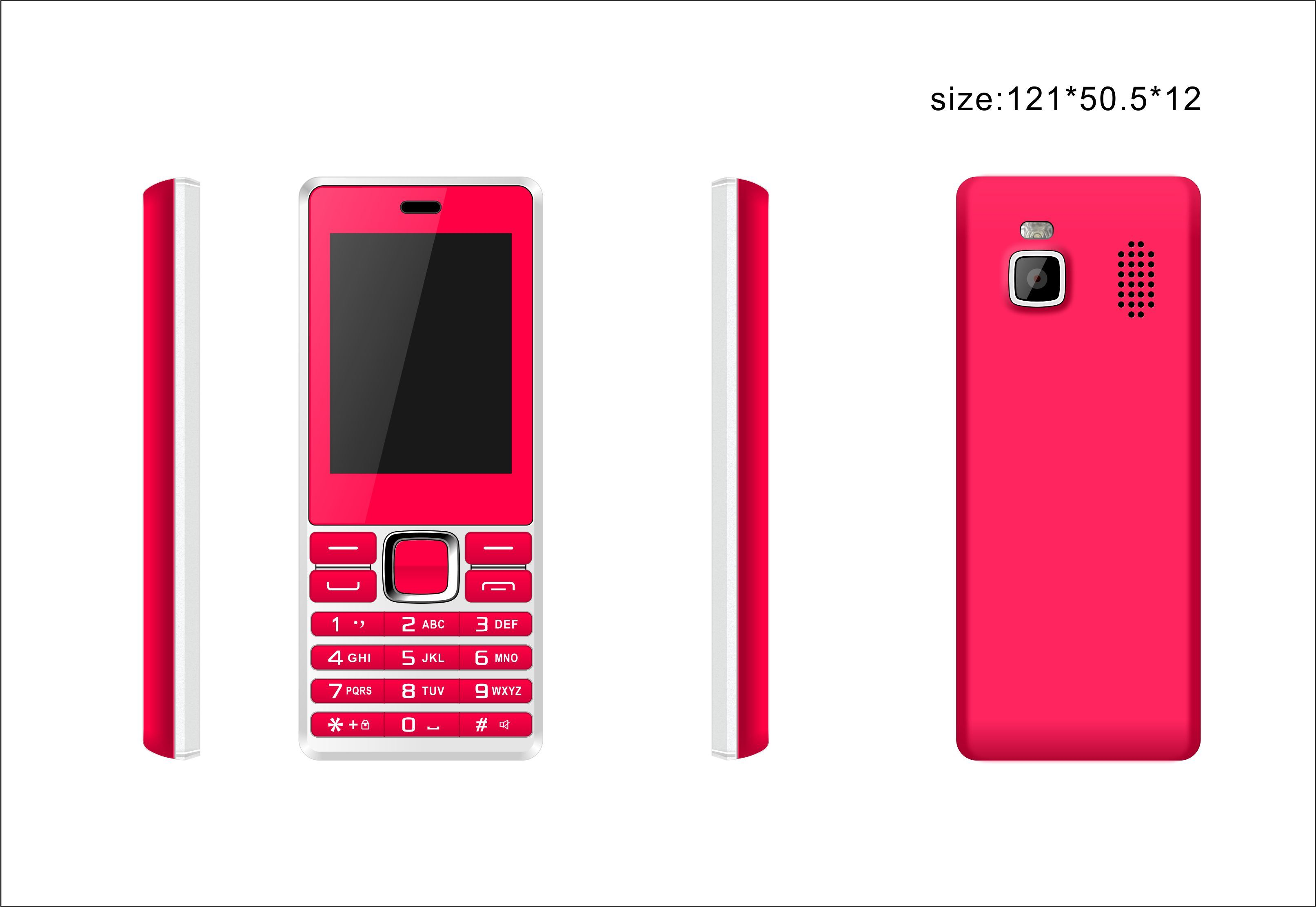 Wholesale 2.4 Inch Mini Basic Unlocked Dual SIM Dual Standby Feature Mobile Cell Phone Mobile Phone for Elederly Person
