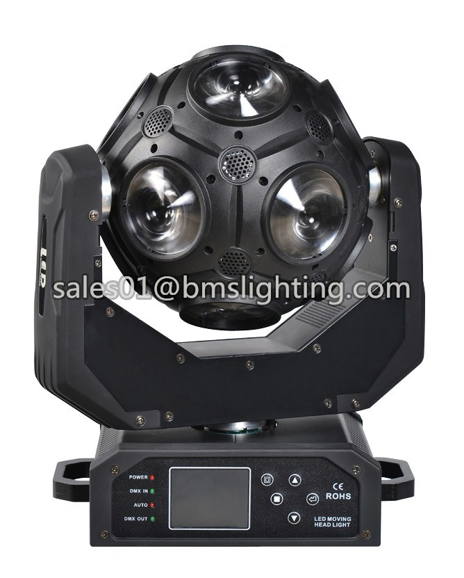Hot Sale Guangzhou Cosmopix 12*20W RGBW 4in1 LED Football Moving Head Light (BMS-8830)