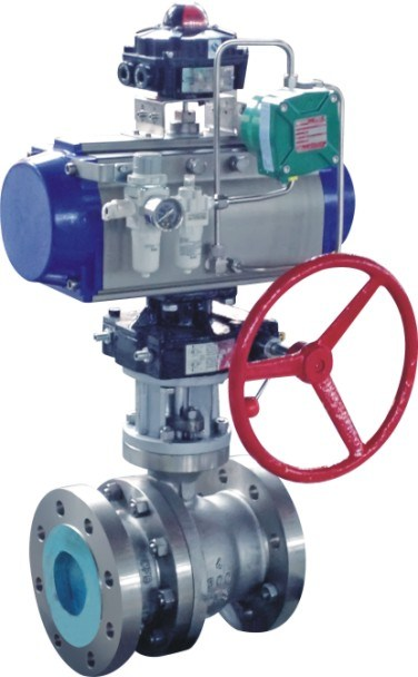 High Performance O Type Ball Valve ANSI/API 607 API 6D Ce