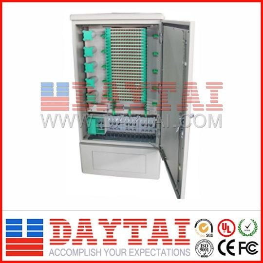 144 Core Outdoor Street Fiber Optic Cross Connect Cabinet