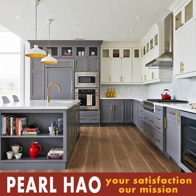 Modern Luxury European Design Solid Wood MDF Kitchen Cabinet
