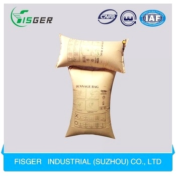 Air Filled Inflatable Dunnage Air Kraft Paper Bags for Transport