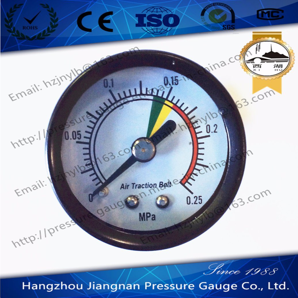 40mm 1.5′′ Back Connection General Pressure Gauge-Air Pressure Gauge