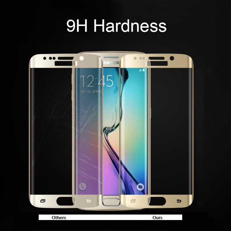 Mobile Phone Accessories Tempered Glass Screen Protector for Samsung Galaxy S6/S6edge S7/S7edges8/S8edge