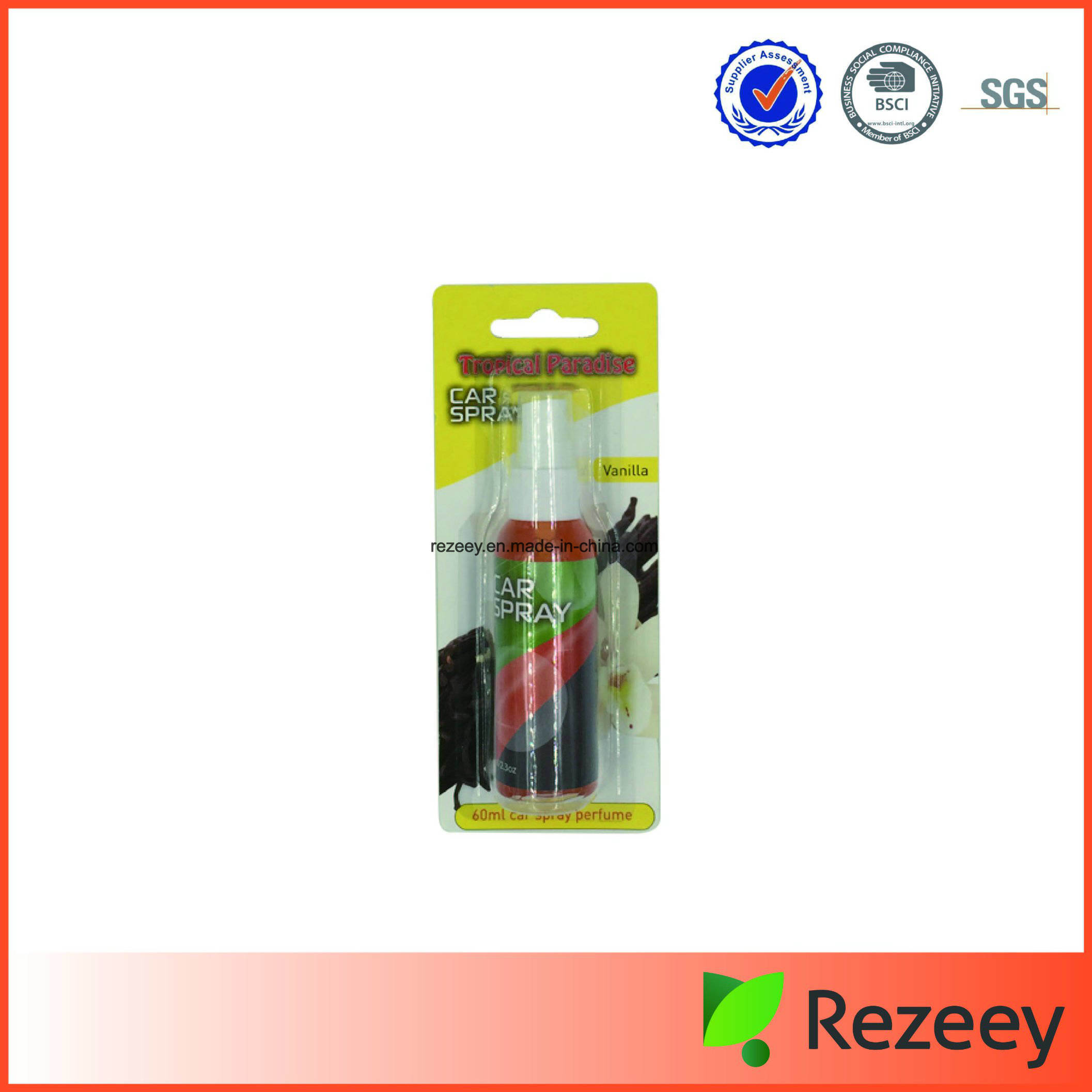 Safety Spray Air Freshener for Car or Home