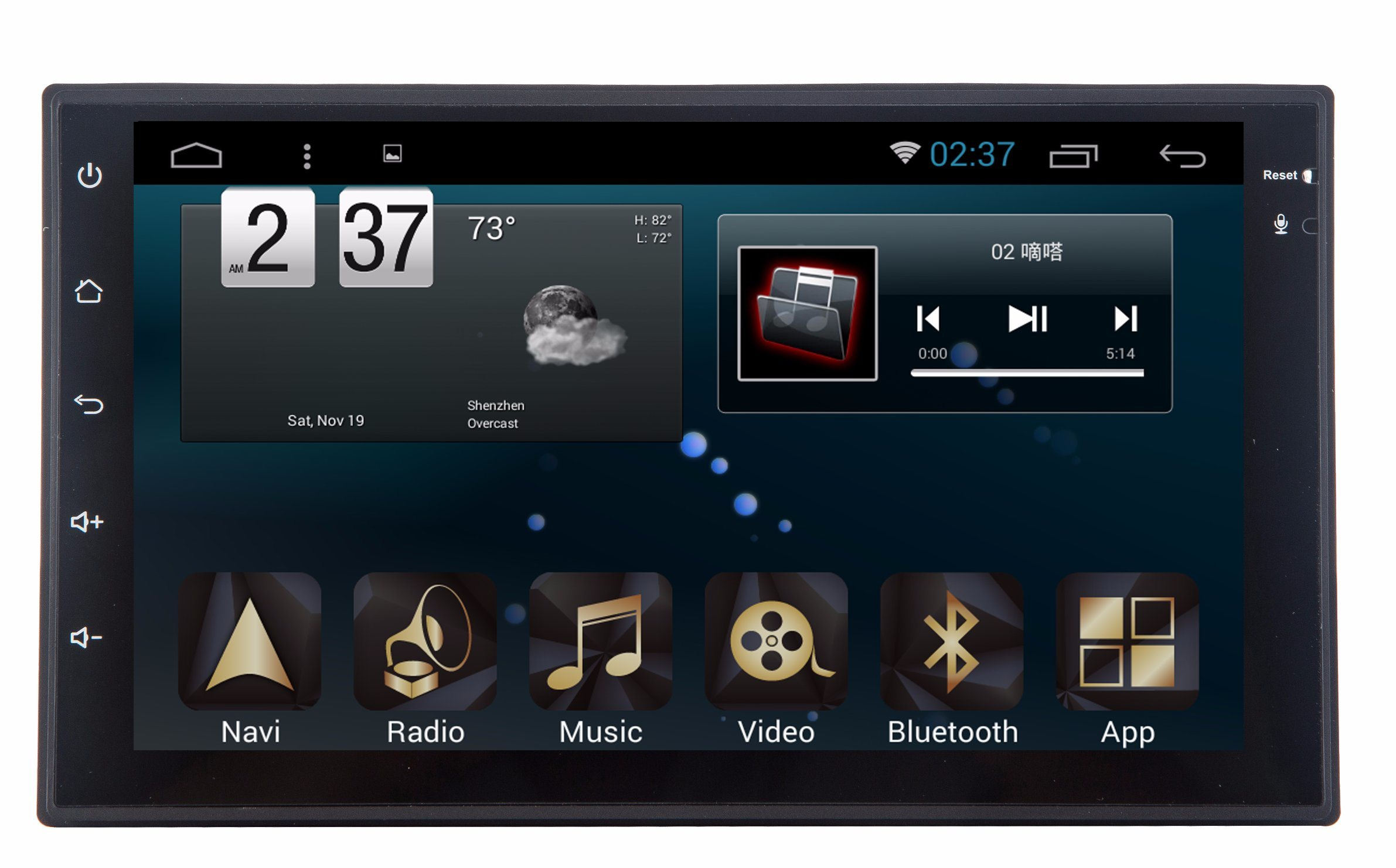 New Ui Android 6.0 Car Accessories for Universal 7 Inch with Car GPS Navigation