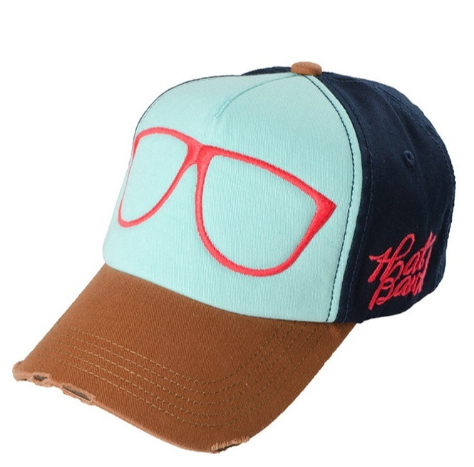 Washed Embroidery Sports Cap