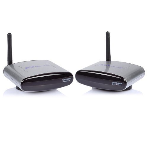2.4G Pat 330 Wireless AV Audio Video Transmitter and Receiver /Sender