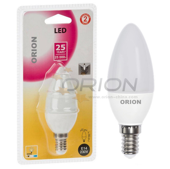 LED Bulb Lamp 5W E14 E27 LED Candle Light for Home