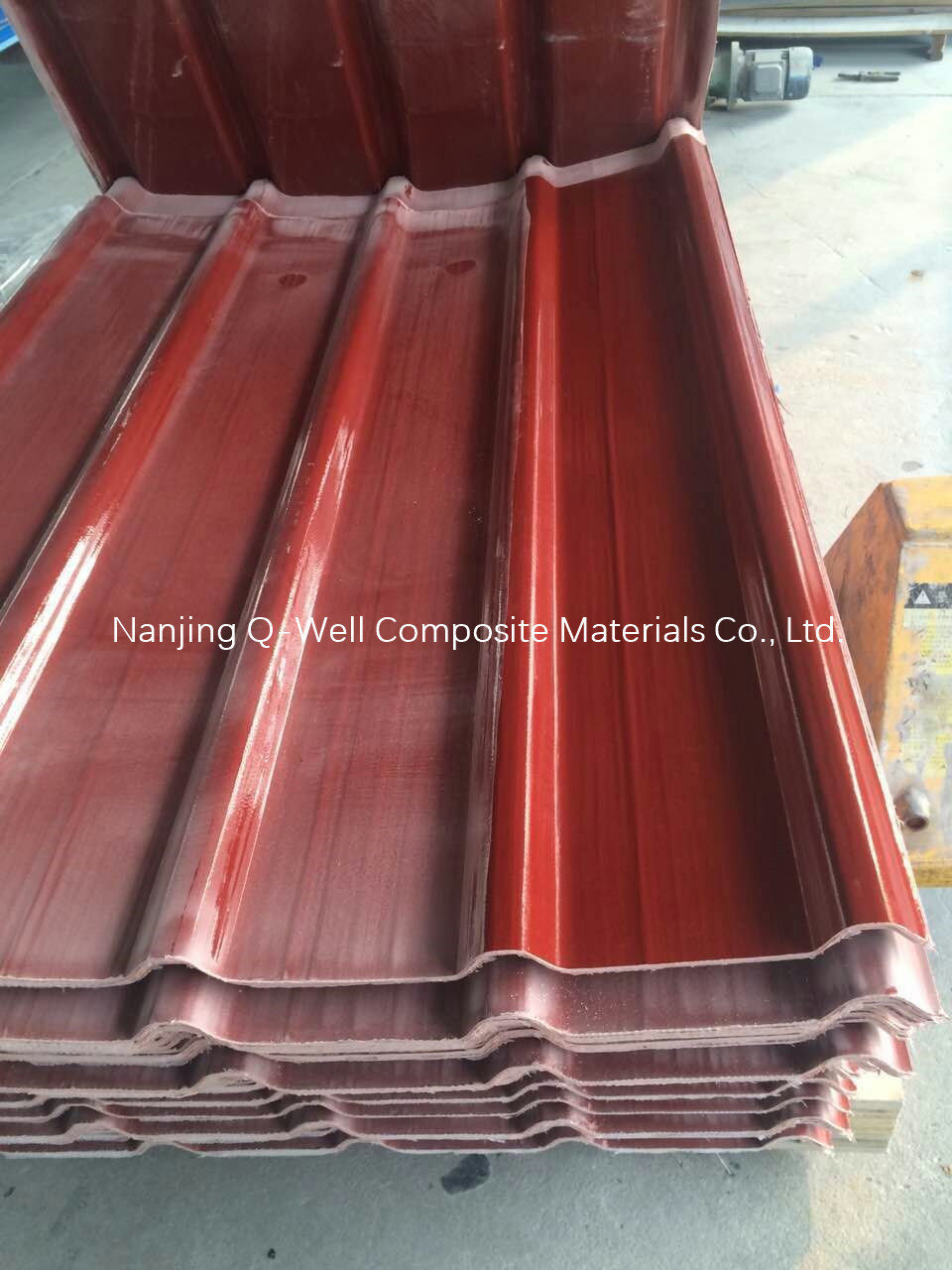 FRP Panel Corrugated Fiberglass/Fiber Glass Color Roofing Panels W172004