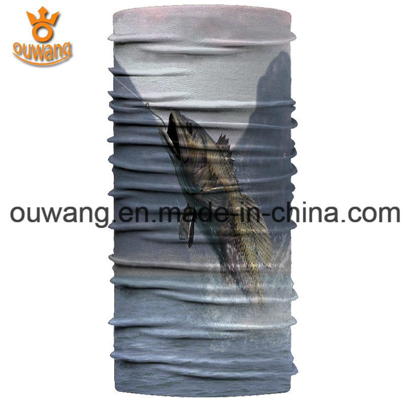 Wholesale Fishing Seamless Stretch Tube Neck Gaiter Bandana