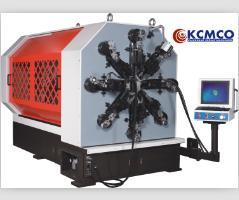 Kcmco-Kct-1260wz 12 Axis Camless CNC 6mm Versatile Spring Making Machine&Extention/Wire Forming Machine