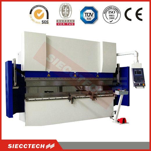 CE Certificated CNC Hydraulic Press Brake (WC67Y 80TONX3200)
