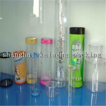Decorative Gift Plastic Cylinder Tubes for Candy Package
