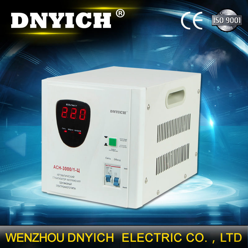 SVC 3000va AVR AC Automatic Voltage Regulator with Analog Display