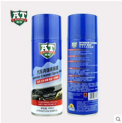 Lemon Dashboard Wax Polish Spray 450ml
