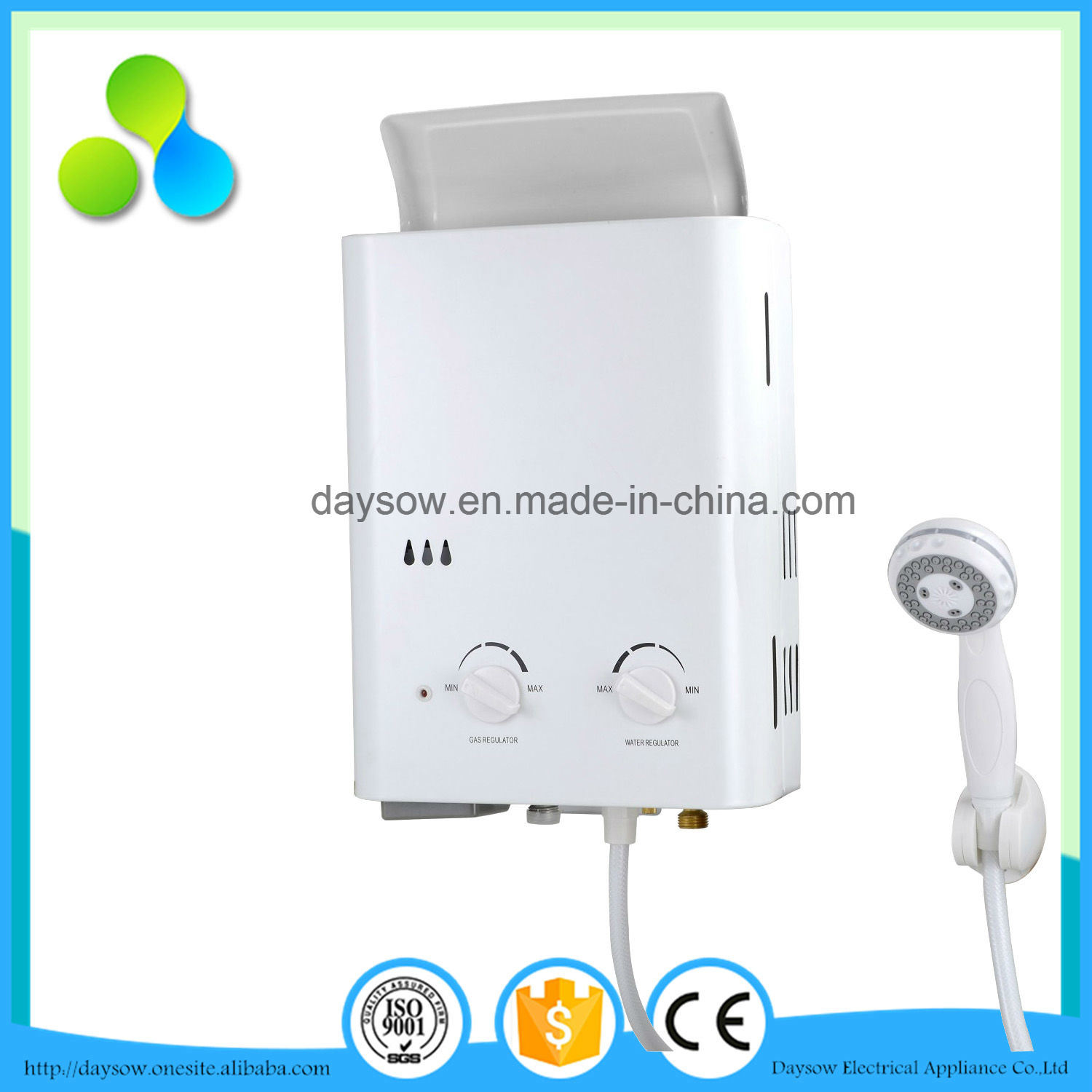 Low Water Pressure Gas Water Heater, Gas Geyser
