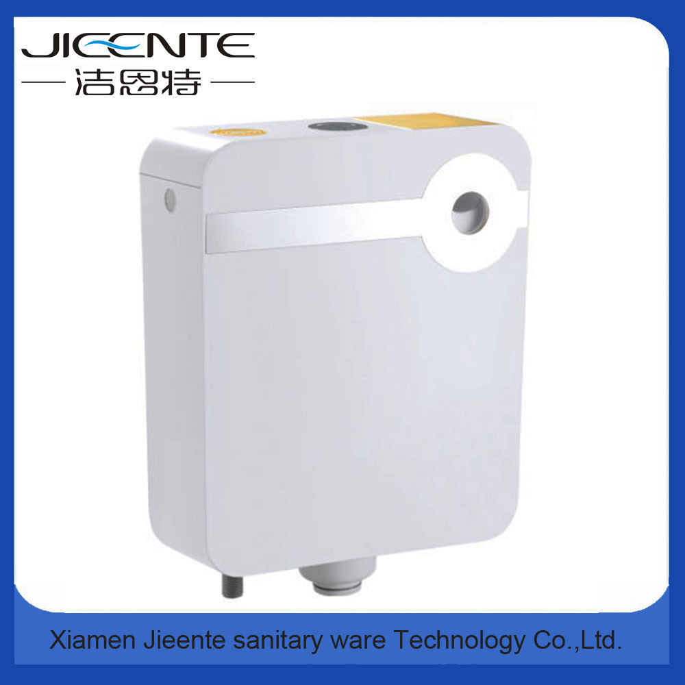 Jet-106A Dual Flush Key Sticker Square Plastic Water Tank