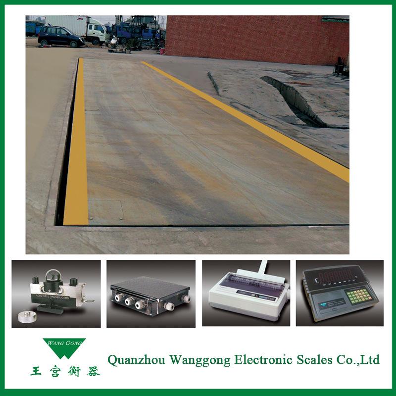 80-100t Digital Truck Scales Weighbridge